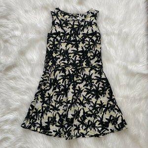 Kenzo Kids Palm Jacquard Dress Sleeveless